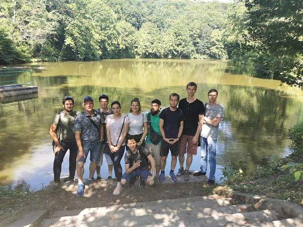Summer School students exploring Slovakia and surroundings of Bratislava