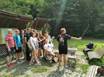 First weekend of Ukrainian students in Bratislava forest park