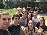 Team building – grill party of Ukrainian students and SEMPA representatives